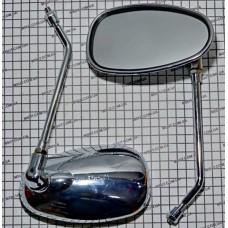 "Зеркала SH2020 8мм. ""хром"" ""овал"""