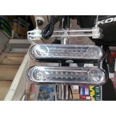 Лампа 15см (широкий)LED 2шт. ДИОД (белый свет)