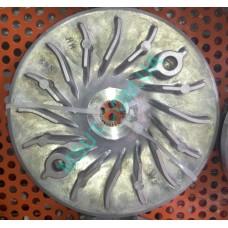 Крыльчатка  вариатора HONDA SH150  лопостя изнутри УЗКИЙ ШЛИЦ