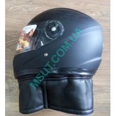 Шлем B977 ЗАКРЫТЫЙ  черный мат