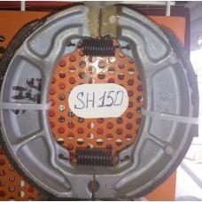 Колодки тормозные задние SH150  барабан. тормоз ОРИГИНАЛ