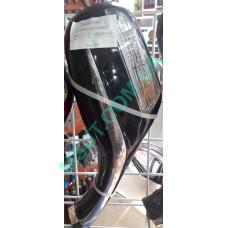 Зеркала (с поворотами) WH125 чёрный