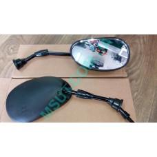 Зеркала HSC-010 ОВАЛ(без резинки) (++)  8мм пара