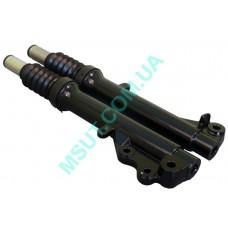 Передний аммортизатор (вилка) JOG SA16  (тайвань) диск.тормоз пара