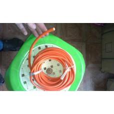 Бронепровод УКРАИНА медный (оранжевый) 1 метр